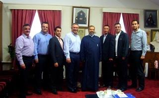 KGB Agent Archbishop Baliozian with ARF Australia Members